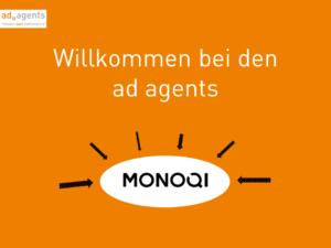 ad agents betreuen Monoqi